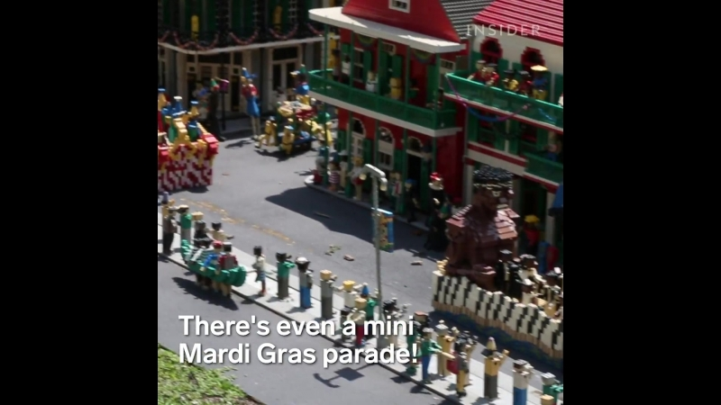 Mini Cities Made Of Legos