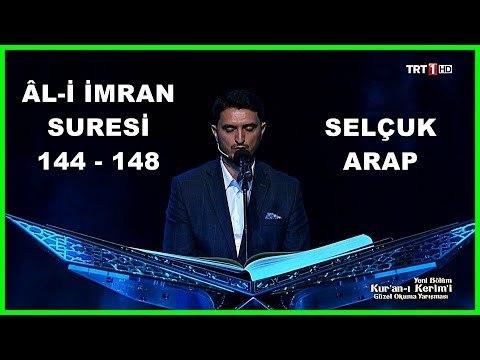 Kur'an ı Kerim'i Güzel Okuma Yarışması Selçuk Arap Hafta Finali