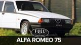 Alfa Romeo 75 del 1986, l