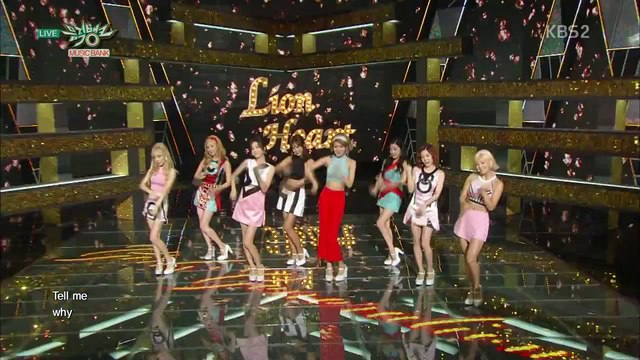 Girls' Generation 소녀시대_Comeback Stage 'Lion Heart'_KBS MUSIC BANK_2015.08.21