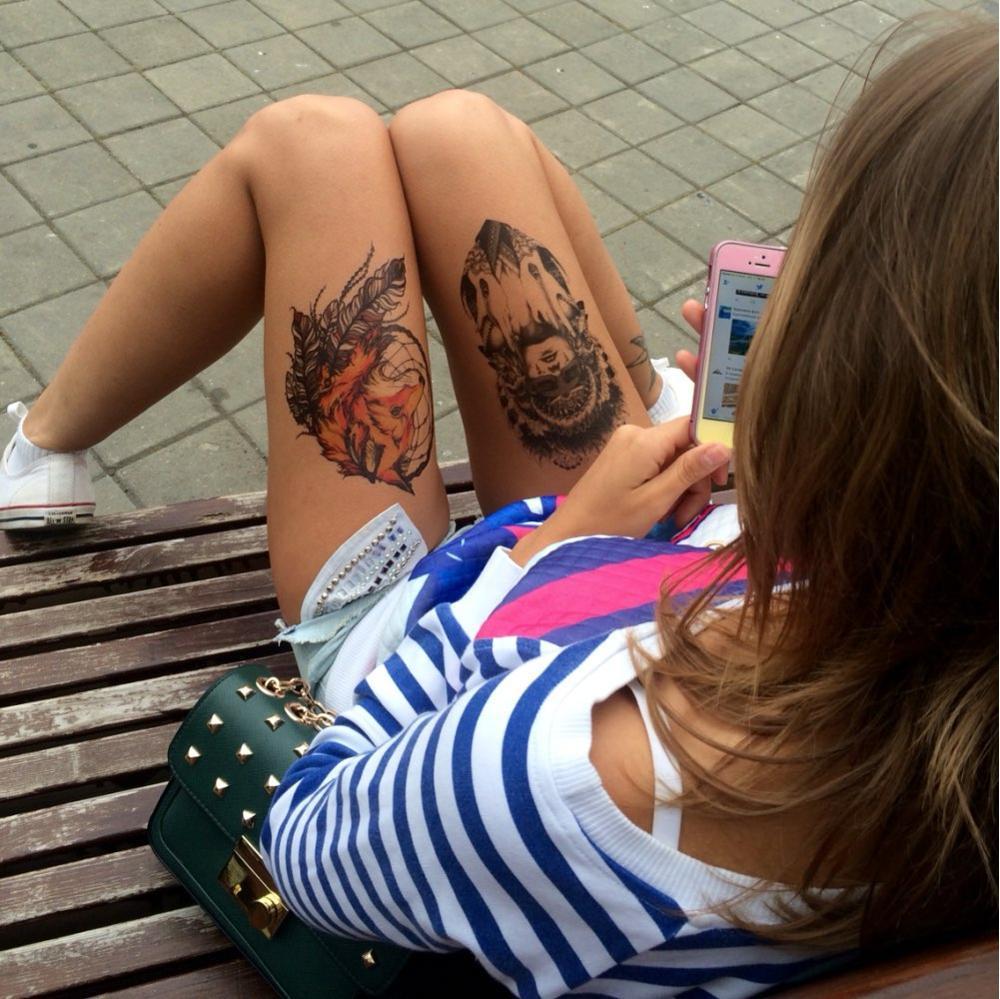 Временная татуировка 050