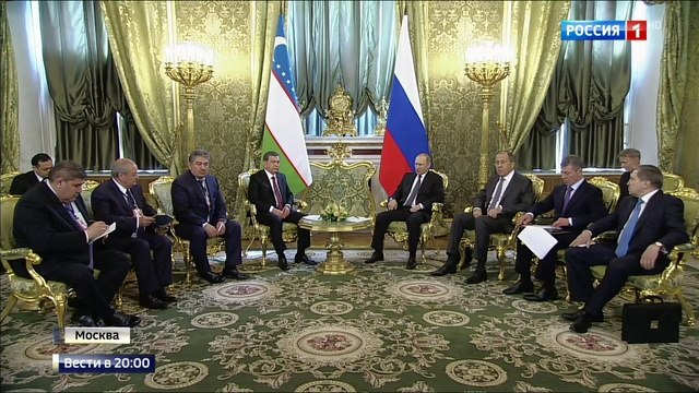 Вести в 20:00 • Сог булинг: Путин пожелал Узбекистану благополучия и процветания