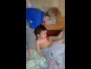 мой внучек и взрослый сыночек савелий