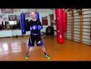 Бей сильно Убойная комбинация руками в боксе тайском боксе