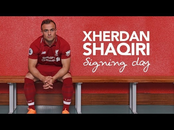 Shaqiris first day at LFC   Exclusive behind-the-scenes access