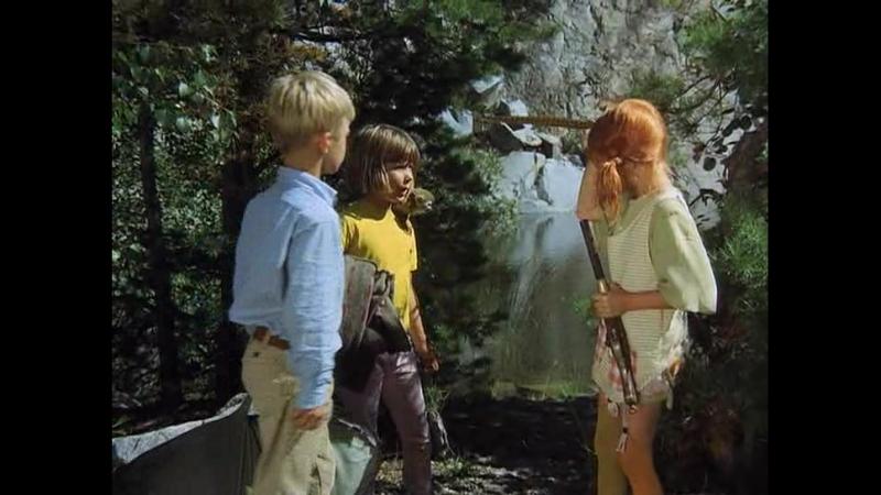 Пеппи Длинныйчулок 11. Пеппи и бутылочная почта (1969) Швеция-ФРГ