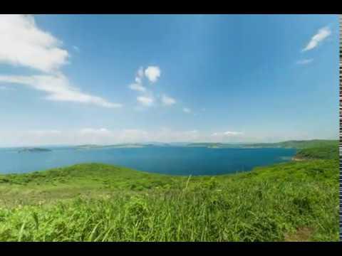 Таймлапс на острове Шкота. Вид на запад.