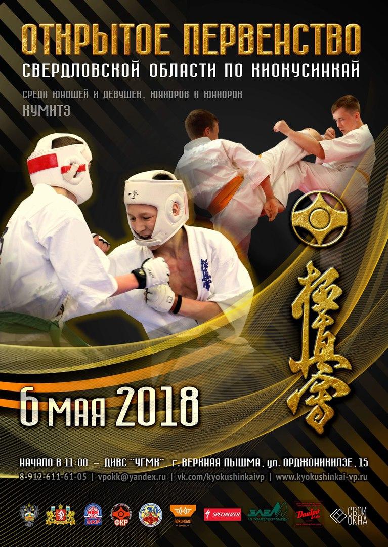 Открытое Первенство Свердловской области по Киокусинкай