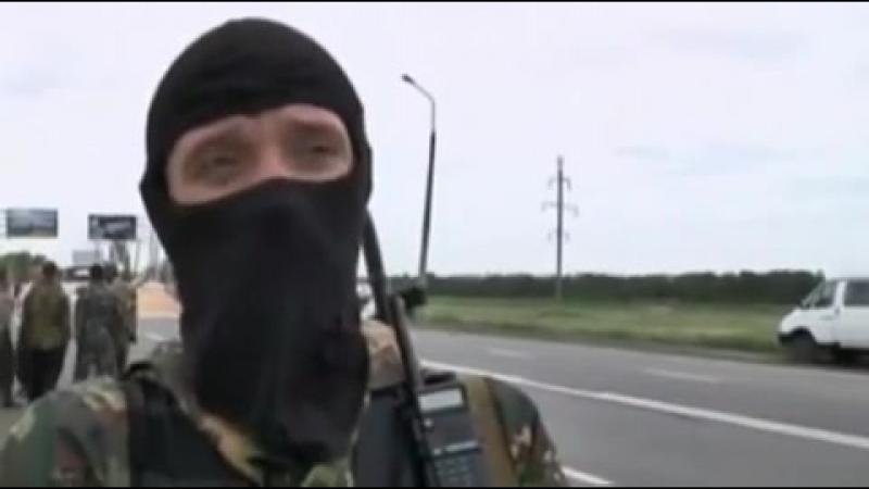 Карловка (ДНР).23 мая,2014.Бой в Карловке. Командир отряда рассказывает ситуацию.