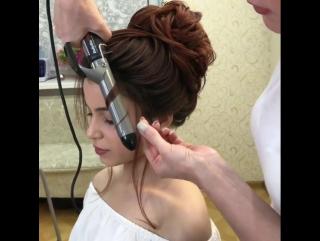 С такой причёской ты всегда будешь выглядеть эффектно!
