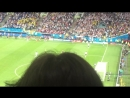 Заключительный гол Германия - Шведция 2:1