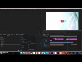 Basic 3D Logo Intro #premierepro #tutorial #timelinetuesday by Chung Dha