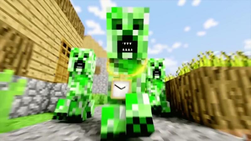 Survive or Die ( Minecraft ) Криперы начинают вторжение