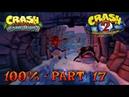 Crash Bandicoot 2 - N. Sane Trilogy - 100% Walkthrough, Part 17: Bear Down (Gem)