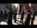 Культура речи бесноватых из группировки С 14 ворвавшихся в киевский Свято Покровский Голосеевский монастырь