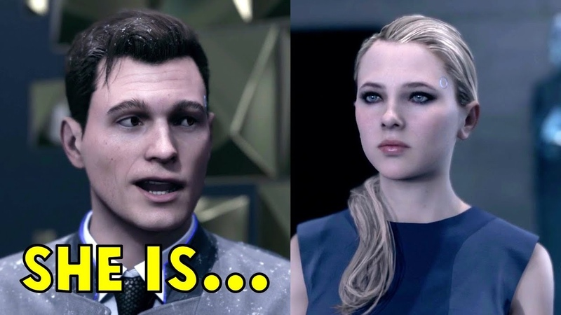 Connor is in Love With Chloe - All Dialogues - Detroit Become Human