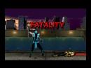 UMK3 Sub-Zero's MKX style klassic fatality animation.