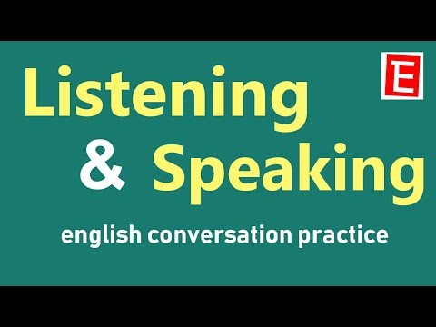 Daily English Conversation Practice | Listening and Speaking | Questions and Answers | English 4K