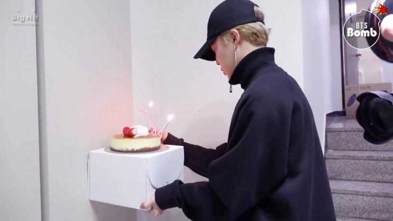 [Rus Sub] [Рус Саб] [BANGTAN BOMB] Jin's Surprise Birthday Party - BTS (방탄소년단)