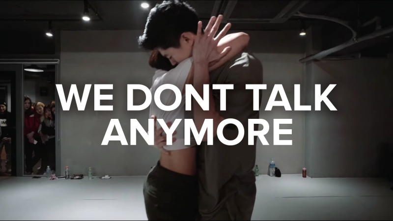 1Million dance studio We Don't Talk Anymore - Charlie Puth / Lia Kim Bongyoung Park Choreography