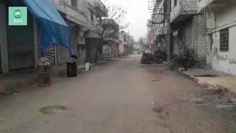 Сирия: корреспондент ФАН посетил осаждённые «Джебхат ан-Нусрой» посёлки к северу от Идлиба.