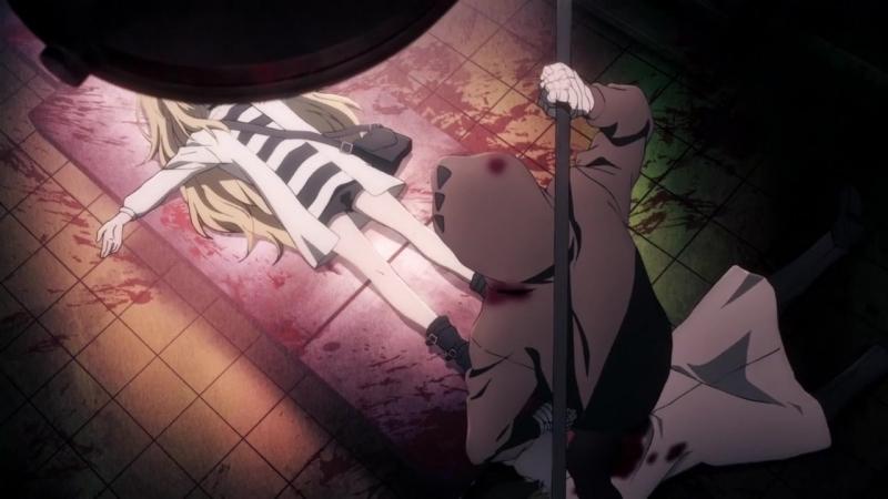 Satsuriku no Tenshi Ангел Кровопролития 1 серия Озвучка Nokinal VieliS Nata Kex AniMaunt