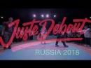 Juste Debout Russia 2018 Hip Hop Final- Jeka Kadet VS Dam'en L'eto