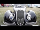Swiss Masterpiece 1940 Alfa Romeo 6C 2500 SS Graber Cabriolet at Pebble Beach Concours d'Elegance