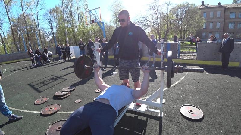 Корпачов Юрий 75 кг жим