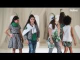 Закрытый модный показ Гуливер модель актриса Саида Отарова