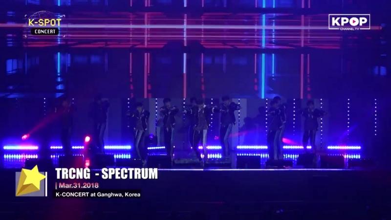 [31.03.18] KPOP Concert in Ganghwa-gun TRCNG @ SPECTRUM