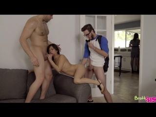 Jasmine gomez - step family threesome [all sex, hardcore, blowjob, gonzo]