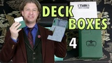 MTG Deck Boxes 4 Ultimate Guard! Compare &amp Contrast Which is best for Magic The Gathering, Pokemon