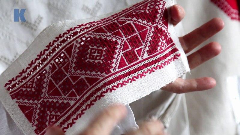 Юрій Мельничук про знаки української вишивки авторське бачення Трикутники шеврони