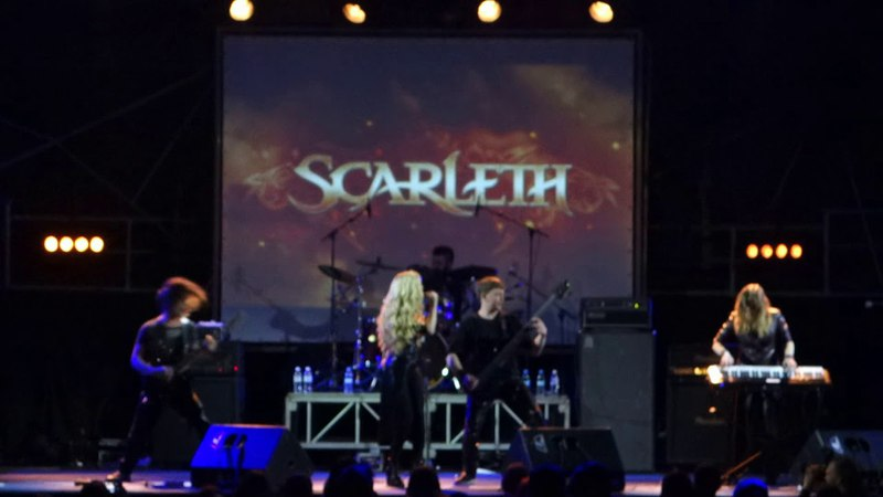 Scarleth - Voices (Live at Bingo club, Kiev, 16.03.2018)
