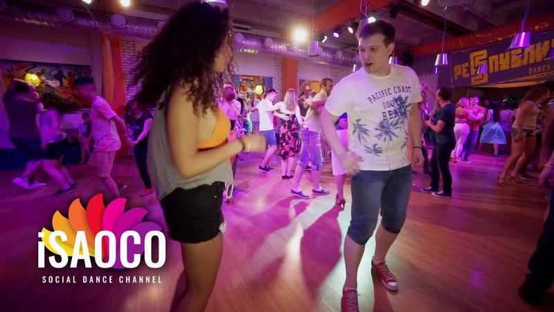 Ilya Kronberg and Sophia Adalis Salsa Dancing in Respublica Vosmera, Saturday 28.04.2018