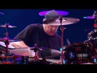Neil peart drum solo - rush live in frankfurt (pink floyd)