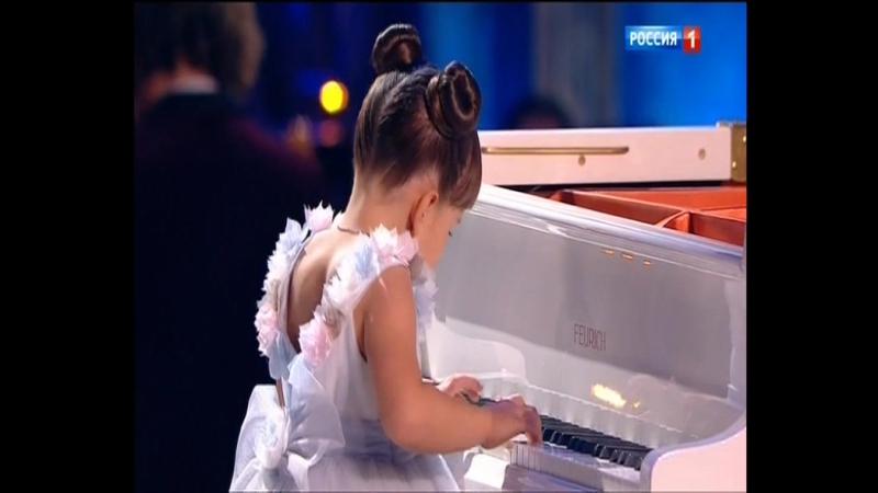 Валерия Руденко 6 лет пианистка К Элизе Л В Бетховен Синяя птица 19 11 17