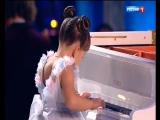Валерия Руденко (6 лет) - пианистка ( К Элизе-Л.В.Бетховен) Синяя птица 19.11.17
