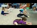 Первые показательные выступления по художественной гимнастике!🌟