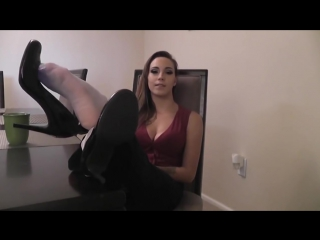 Sasha Foxx JOI HD POV sexy feet stocking pantyhose socks