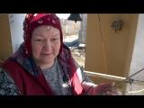Елена Капранова на колокольне в Старой деревне
