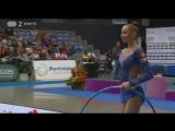 Мария Сергеева - обруч (финал) // World Challenge Cup Portimao 2018