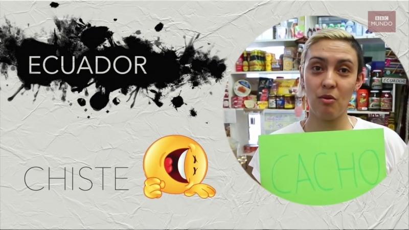 Palabras con significados distintos en países de América Latina