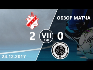 J4F - ASATA (2-0) VII тур ВЛ ВШЭ по мини-футболу 2017