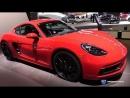 2018 Porsche 718 Cayman GTS - Exterior and Interior Walkaround - 2018 Chicago Auto Show