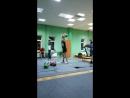 Черепанов Антон гири две по 16 кг общий вес гирь 32 кг вес спортсмена 50 кг)