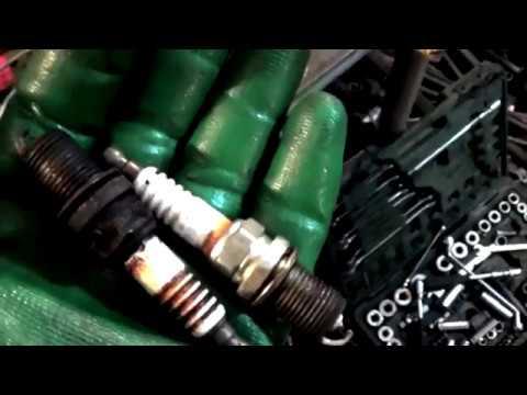 Замена прокладок клапанных крышек, свечей на двигателе Subaru EJ20