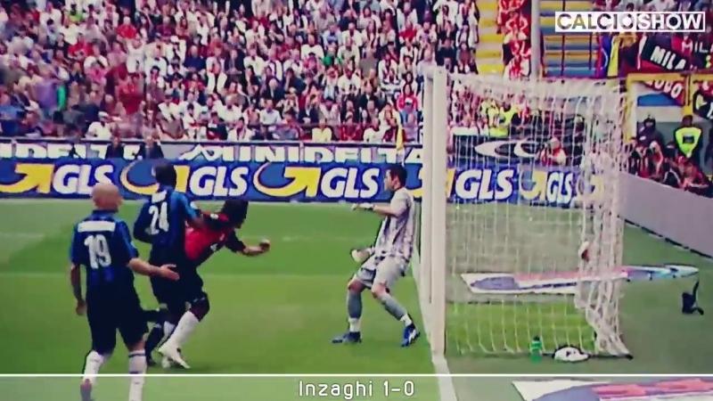 Milan vs Inter - Derby dal 2003 al 2012 - Caressa Piccinini Mix