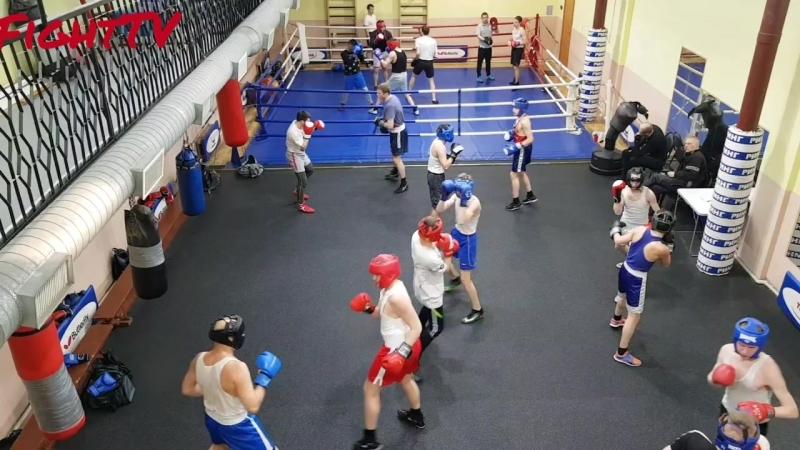 Боевая практика в БК Ринг у ЗТР Исаева